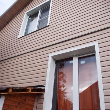 Кубинка, Одинцовский район Профиль REHAU BLITZ 60 мм, монтаж в частном доме