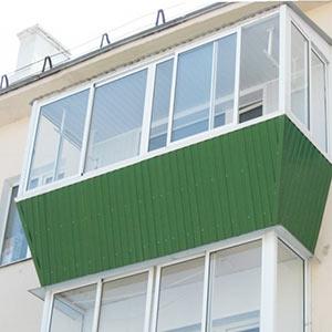 Выносное остекление балконов