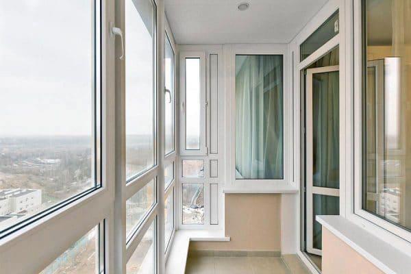 Пластиковые балконы Дорохово2