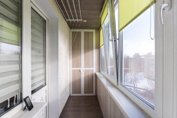 Пластиковые балконы Жаворонки2