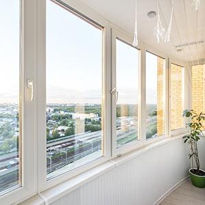 Теплое остекление балконов ПВХ